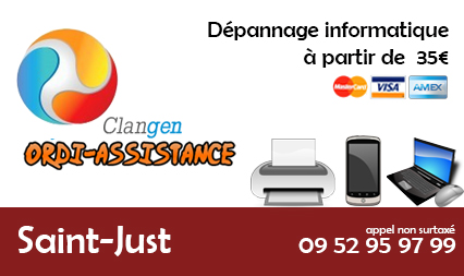 Dépannage informatique saint-just