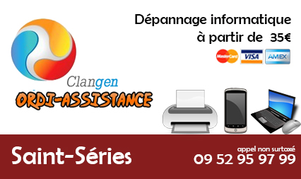 Dépannage informatique saint-series