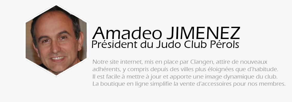 amadeo jimenez judo club perols